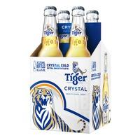 Tiger Bottle Beer - Crystal Cold Lager