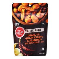 Bhuja Nuts Snacks - Peanuts, Grain Twists & Almonds