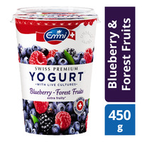 Emmi Swiss Premium Yoghurt - Blueberry & Forest Fruits