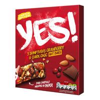 Yes! Nut Bars - Cranberry & Dark Choc