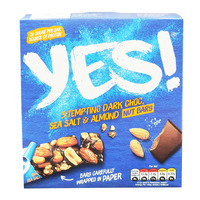 Yes! Nut Bars - Dark Choc, Sea Salt & Almond
