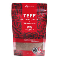 Outback Harvest Teff Grains - Brown