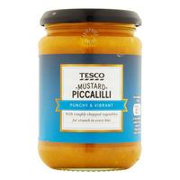 Tesco Mustard - Piccalilli