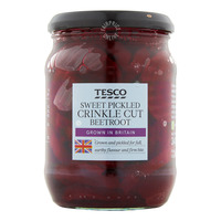 Tesco Sweet Pickled Beetroot - Crinkle Cut