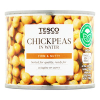 Tesco Can Chickpeas In Water