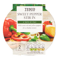 Tesco Stir In Paste - Sweet Pepper