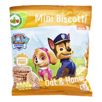 Paw Patrol Mini Biscotti - Oat & Honey