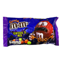 M&M's Ghoul's Mix Chocolate Candy - Caramel