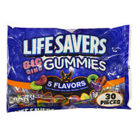 Life Savers Big Ring Gummies - 5 Flavours