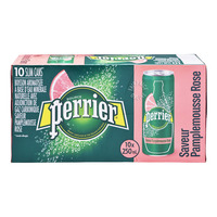 Perrier Sparkling Natural Mineral WaterCan-PinkGrapefruit