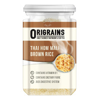 Origrains Wholegrain Rice - Thai Hom Mali Brown Rice
