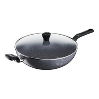 Tefal Non-Stick Wok Pan with Lid - 32cm