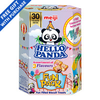 Meiji Hello Panda - Assorted
