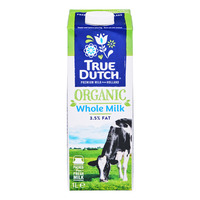 True Dutch Organic Whole Milk