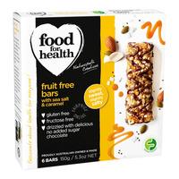 Food For Health Fruit Free Bars - Sea Salt &Caramel
