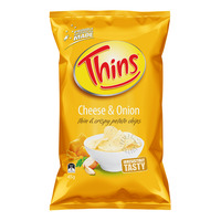Thins Potato Chips - Cheese & Onion