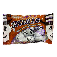 Palmer Double Crisp Chocolate Candy - Skulls