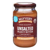 Mayver's Peanut Butter - Unsalted (Dark Roasted)