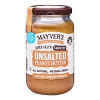 Mayver's Peanut Butter - Unsalted
