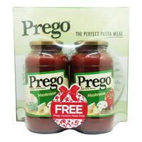 Prego Pasta Sauce - Mushroom Tomato
