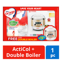 Nestle Omega Plus Adult Milk Powder - ActiCol+DoubleBoiler