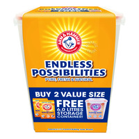 Arm & Hammer Pure Baking Soda + Storage Containers
