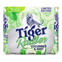 Tiger Radler Can Beer - Cucumber & Mint