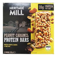 Freedom Foods Heritage Mill Bars - Peanut Caramel