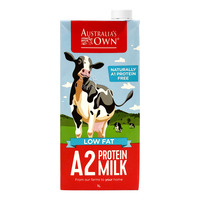 Australia's Own A2 Protein UHT Milk - Low Fat