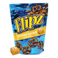 Flipz Covered Pretzels - Caramel Sea Salt