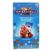 Ghirardelli Milk Chocolate - Snowman