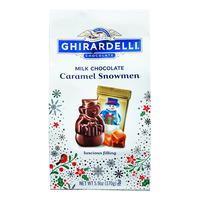 Ghirardelli Milk Chocolate - Caramel Snowmen