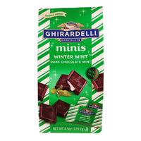 Ghirardelli Dark Chocolate Minis - Winter Mint