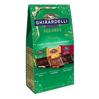 Ghirardelli Classic Holiday Square Chocolate - Assortment