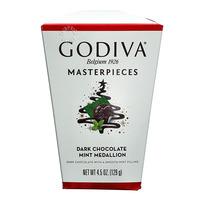 Godiva Masterpieces Dark Chocolate - Mint Medallion