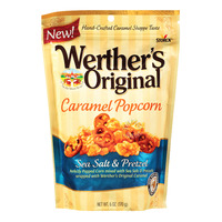 Werther's Original Caramel Popcorn - Sea Salt & Pretzel