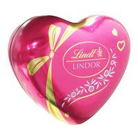 Lindt Lindor Cornet Chocolate Balls - Heart Shaped Tin