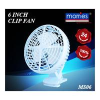 Morries Clip Fan - 6inch (MS06)
