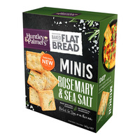 Huntley & Palmers Baked Flat Bread Minis - Rosemary & Sea Salt