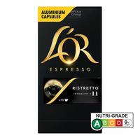 Lor Espresso Aluminium Capsules - Ristretto