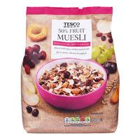 Tesco Muesli - 50% Fruit