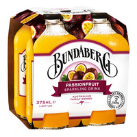 Bundaberg Sparkling Bottle Drink - Passionfruit