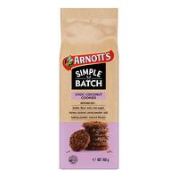 Arnott's Simple Batch Cookies - Choc Coconut