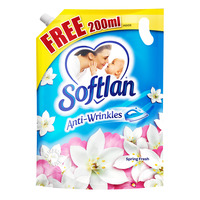 Softlan Anti-Wrinkles Fabric Conditioner Refill - Spring Fresh