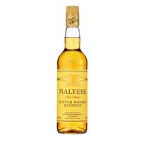 Maltese Scotch Whisky Blended