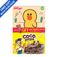 Kellogg's Cereal - Coco Loops + Line Friends Spoon