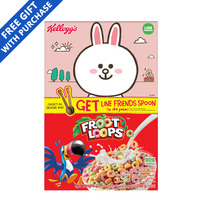 Kellogg's Cereal - Froot Loops + Line Friends Spoon