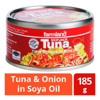 Farmland Skipjack Tuna - Onion in Polyunsaturated Oil