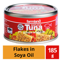 Farmland Skipjack Tuna - Flakes in Soya Oil