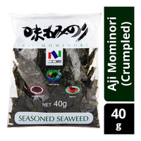 Nico-Nico Foods Seasoned Seaweed - Aji Mominori (Crumpled)